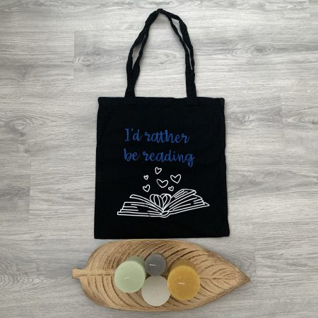 'Tote bag Rather Be Reading'